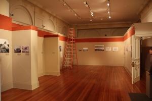 Peabody exhibit gallery - before