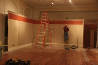 Peabody gallery - taking down the walls