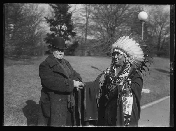 General Hugh L. Scott and Chief Charles McDonald