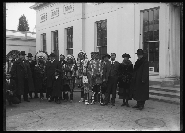 Truncated version of the Ponca photo at the Library of Congress