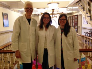 Visiting the Harvard Peabody collections