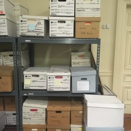 Boxes of MacNeish papers