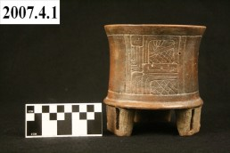 Maya Cylinder Jar