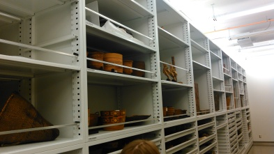 Collections storage at the MOA