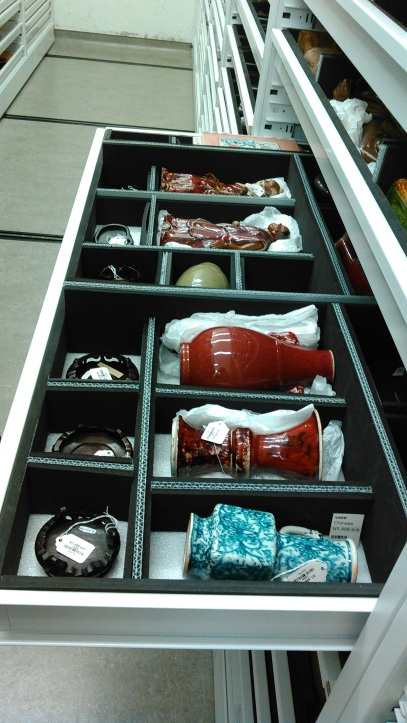 Example of individual object storage at the MOA