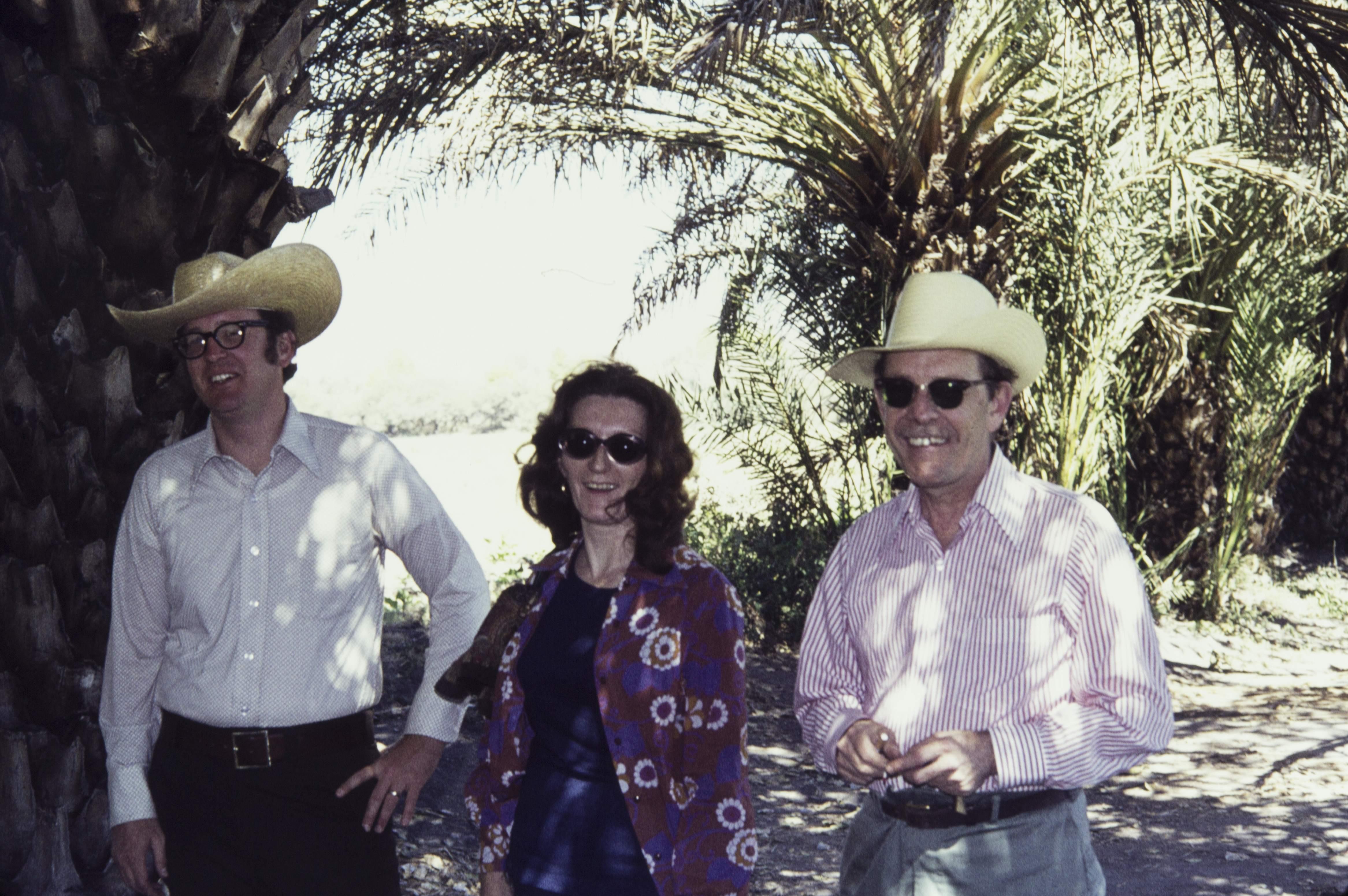 Ed Sisson, Antoinette Nelken-Terner and Scotty MacNeish