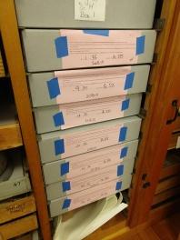 Boxes returned bones find a new home
