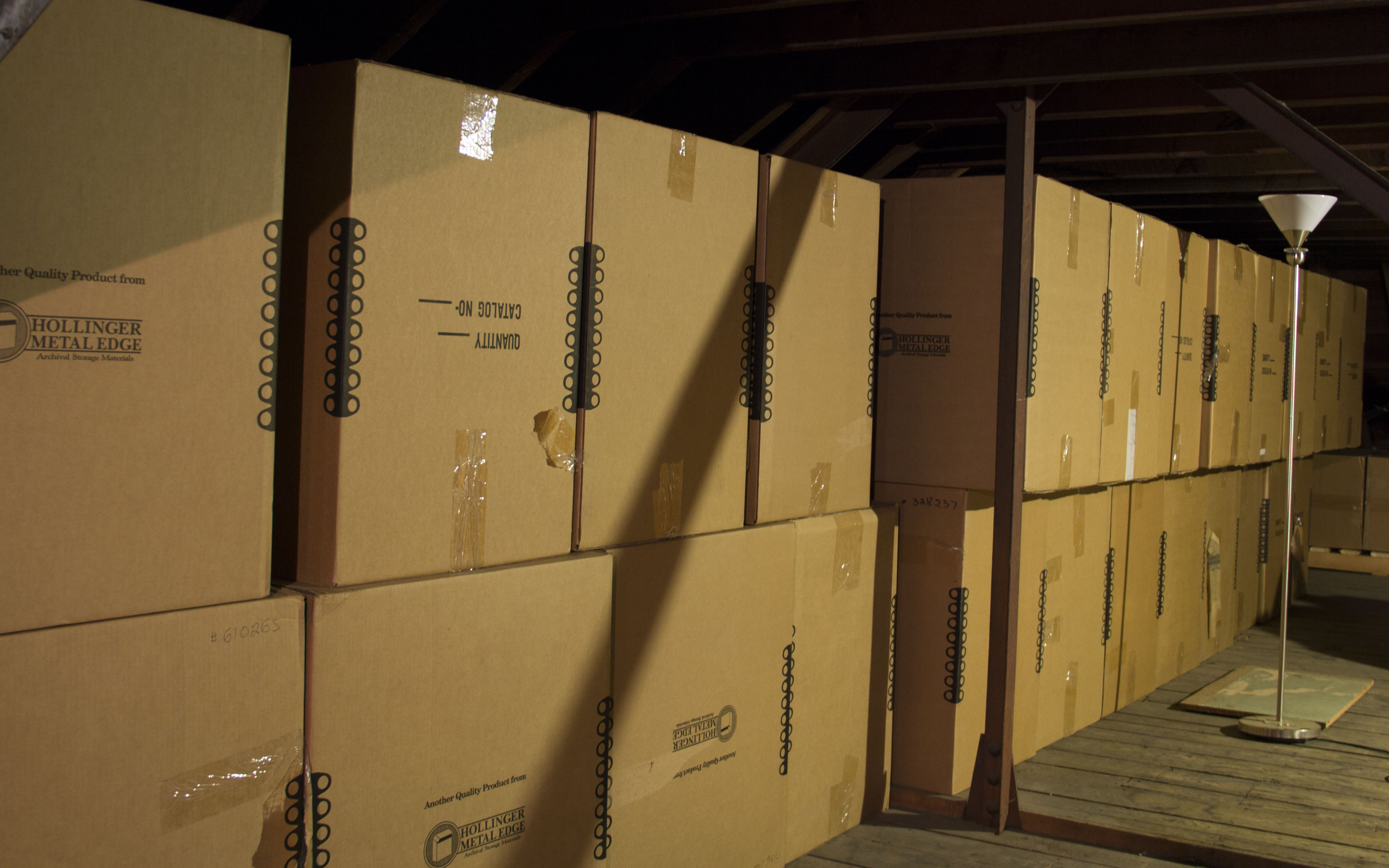 Boxes in the Attic 1