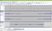 Layering of audio tracks in Audacity